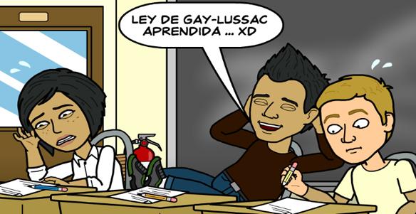 Ley De Gases Gay Lussac