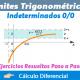 Límites Trigonométricos Indeterminados