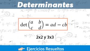 Determinantes + Ejercicios Resueltos