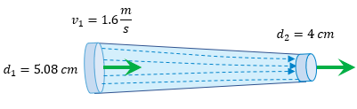 Ecuación de Continuidad problemas