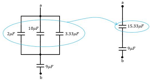 Sumar capacitores en paralelo