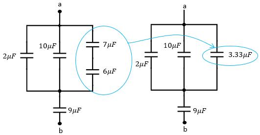 Suma de capacitores en paralelo